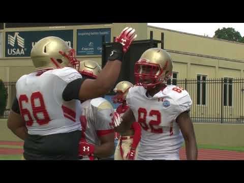 Football Camp Scrimmage 1 Report