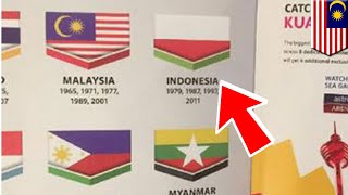 MALAYSIA  — #shameonyoumalaysia digaungkan oleh netizen Indonesia terkait bendera Indonesia yang dicetak terbalik dalam buku panduan Sea Games 2017. Malaysia sebagai penyelenggara Sea Games tahun 2017 melakukan sebuah kesalahan yang fatal yakni mencetak bendera Indonesia terbalik dalam buku panduan Sea Games 2017 yang baru dibuka tanggal 19 Agustus lalu. Bendera Indonesia yang seharusnya merah-putih menjadi putih-merah, jadi sama seperti bendera Polandia. Tapi ternyata kesalahan posisi bendera itu tidak hanya di booklet, melainkan koran Metro Malaysia juga mencetak bendera Indonesia terbalik.Menagggapi hal tersebut Presiden Indonesia, Joko Widodo mengekspesikan kekecewaannya di hari Minggu 20 Agustus lalu. Beliau juga meminta pemerintah Malaysia untuk secara resmi meminta maaf.Insiden ini membuat warga Indonesia geram dan ramai-ramai mempopulerkan tagar Shame On You Malaysia melalui Twitter sebanyak 70,000 kali. Kesalahan ini dinilai telah mencoreng nama Malaysia sebagai tuan rumah Sea Games 2017. Tidak lama setelah insiden ini menjadi viral, Menteri Belia dan Sukan Malaysia, Khairy Jamaluddin meminta maaf secara langsung kepada rakyat Indonesia di hadapan Menteri Pemuda dan Olahraga, Imam Nahrawi.Sebagai bentuk permintaan maaf, Pemerintah Malaysia telah memerintahkan untuk tidak mengedarkan lagi booklet dan mencetak buku baru yang akan dikirim kembali kepada tamu negara.Pemerintah Indonesia berharap semoga hal ini tidak kembali terulang karena apa pun, bendera adalah simbol negara yang harus dihormati.-------------------------------------------------------------TomoNews adalah sumber berita nyata terbaik. Kami meliputi cerita paling lucu, paling gila dan paling banyak dibicarakan di internet. Cara penyampaian kami apa adanya dan tidak mengenal batas tertentu. Jika Anda tertawa, maka kami juga sedang tertawa. Jika Anda marah, kami pun sedang marah. Kami menyampaikan berita apa adanya. Dan karena kami juga dapat menganimasikan cerita, TomoNews memberikan Anda berita 