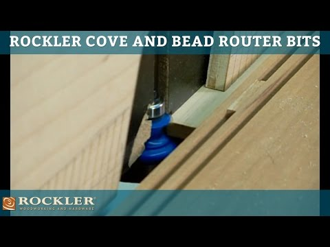 Bead & Cove Router Bit