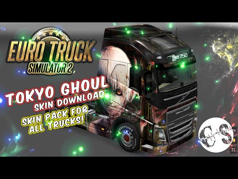 Tokyo Ghoul Skin Pack for All Trucks + Volvo Ohaha