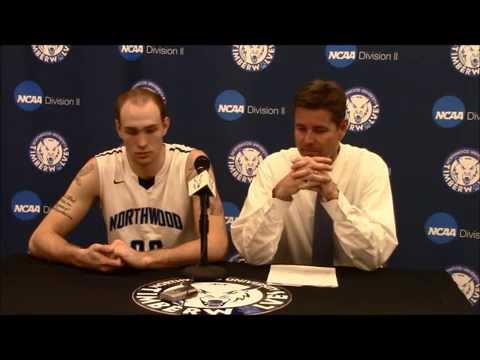 Northwood University Men's Basketball (12/11/14) NU 87, Walsh 83 - Press Conference