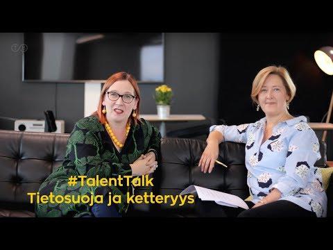 Talent Talk - Ratkaisukeskeinen keskusteluohjelma   Jakso 2: Tietosuoja ja ketteryys