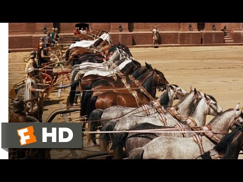 Ben-Hur (1/10) Movie CLIP - Parade Of The Charioteers (1959) HD