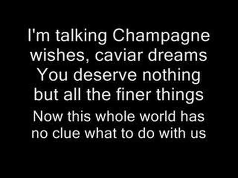 Fergie Ft. Ludacris-Glamorous (WITH LYRICS)