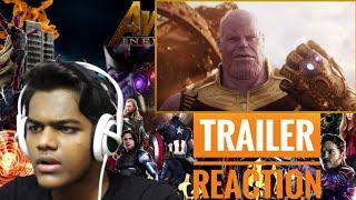 Marvel Studios' Avengers: Infinity War Official Trailer | Indian Reaction