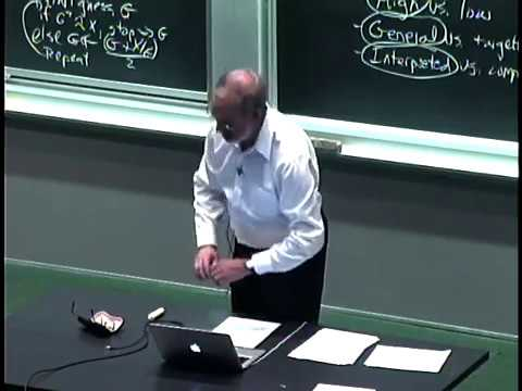 computers - Lecture 1: Goals of the course; what is computation; introduction to data types, operators, and variables Instructors: Prof. Eric Grimson, Prof. John Guttag ...