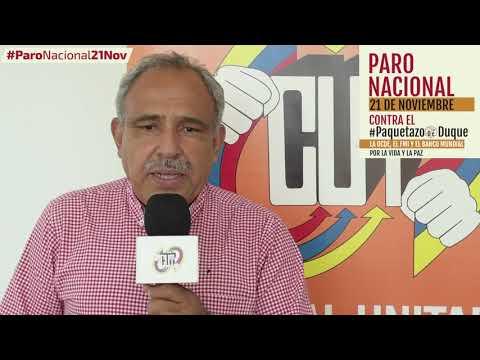 Omar Romero invita al #ParoNacional21N