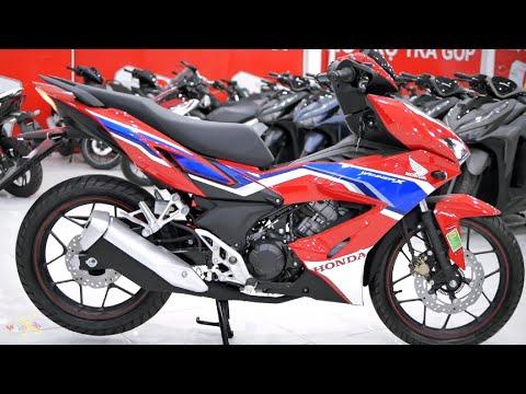 Honda Winner X HRC 150i 2020 - Red White Blue - Walkaround