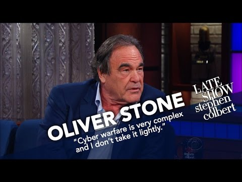 Oliver Stone Spent Two Years Interviewing Vladimir Putin