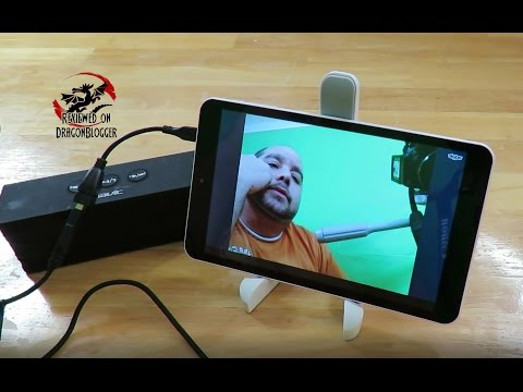 Dragon Touch S8 8' tablet with Bluetooth Audio, FM Radio, Netflix, Skype and OTG