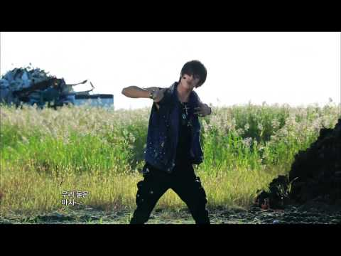 100% - Bad Boy, 백퍼센트 - 나쁜 놈, Music Core 20120922 (видео)