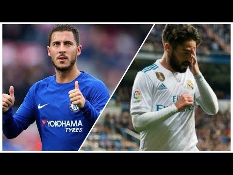 Isco VS Hazard 2017 (Which Is The Best Magician?)