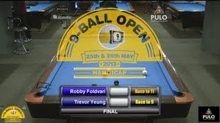 CueballTV 9 Ball Open Handicap 2013 Final
