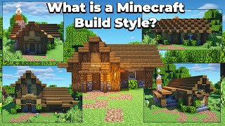 What is a build style in Minecraft 1.15? Timelapse & Guide