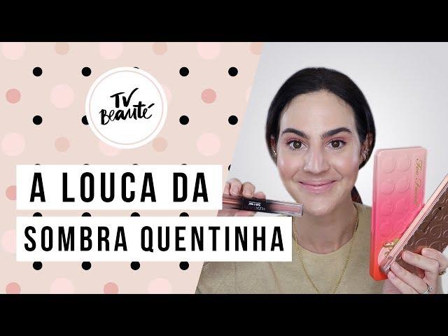 A Louca da Sombra Quentinha - TV Beauté | Vic Ceridono - Victoria Ceridono