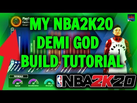 MY NBA2K20 DEMI GOD LOCK DOWN BUILD! [HE CAN GUARD EVERY POSITION]