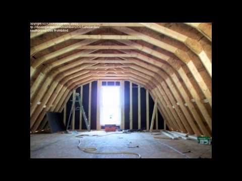 Building a Home Gambrel Roof
