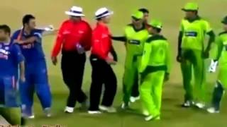 TOP TEN ANGRY MOMENTS BETWEEN INDIA AND PAKISTAN CRICKET MATCH IN WORLD CRICKET HISTORY  CRICKET...