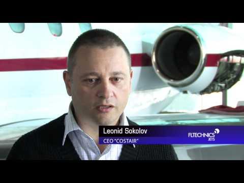 FL Technics Jets Aircraft Maintenance Company meets Hawker 700B