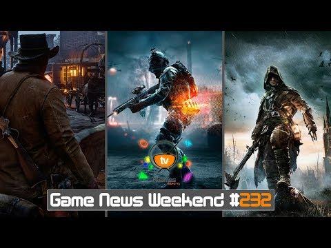 Игровые Новости — Game News Weekend #232 | (Battlefield 5, Assassin's Creed Dynasty, RDR 2, FC 5)