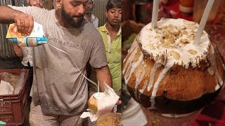 Video COCONUT SHAKE MASTER | Amazing Milk Pouring Skills | Indian Street Food MP3, 3GP, MP4, WEBM, AVI, FLV Juli 2018
