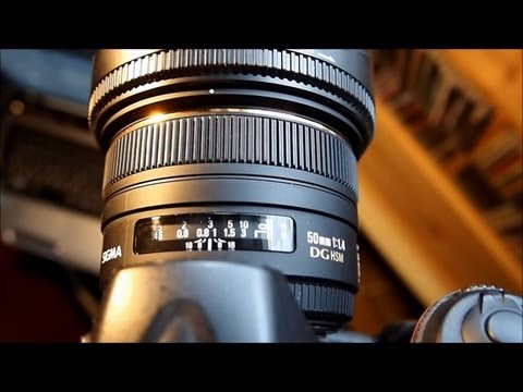 sigma 50mm F 1.4 DG hsm spot autofocus test check out the results