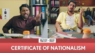 Video FilterCopy | Certificate Of Nationalism | Ft. Pranay Manchanda and Kartik Krishnan MP3, 3GP, MP4, WEBM, AVI, FLV Mei 2018