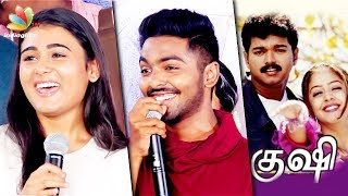 Video 100% Kadhal will be next Kushi : GV Prakash Speech | Arjun Reddy Heroine Shalini Pandey Movie MP3, 3GP, MP4, WEBM, AVI, FLV Maret 2018