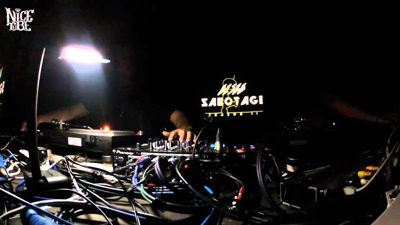 Soul Clap - Live @ Nice To Be Disco Sabotage II 2012