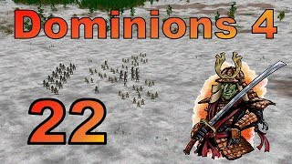 A seven-person free for all (7 FFA) on the map of Parganos in Dominions 4 Thrones of Ascension. This is a 4X game based on...