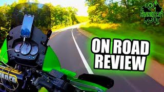 8. How Bad Is The KLR On Road? | KLR650 Highway Review