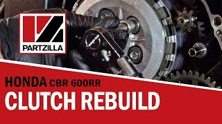 2. How to Rebuild the Clutch on a Honda CBR 600 RR | Partzilla.com
