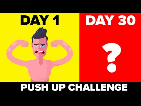 I Did 30 Push-Ups For 30 Days And This Is What Happened - Funny Challenge
