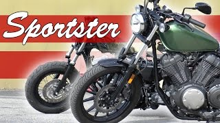 7. Yamaha Bolt VS Harley 1200 Sportster 48 Edition - Review/Dyno