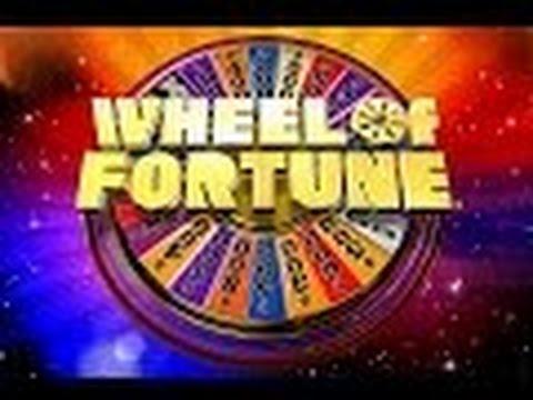 WHEEL OF FORTUNE SLOT MACHINE BONUSES-$5 Denomination
