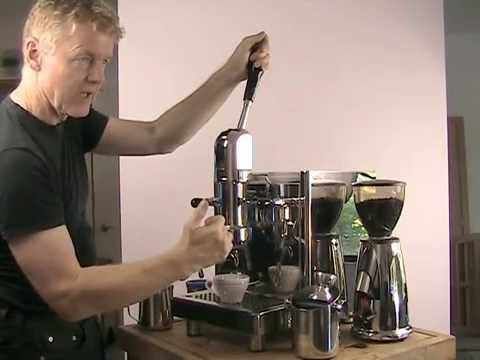 Lever Espresso Machine Bezzera Strega Switchable VIB Support
