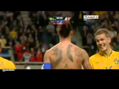 Ibrahimovic scores a beauty in England's 4-2 demolition