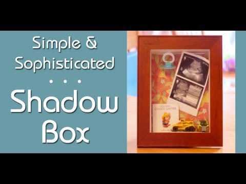 Super Simple Shadow Boxes