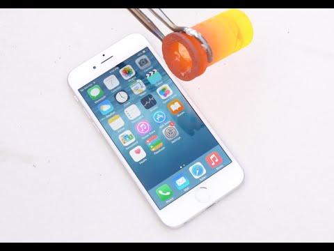 Tưới nhôm nóng chảy lên iPhone 6