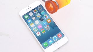 Pouring Molten Aluminum Over An iPhone 6