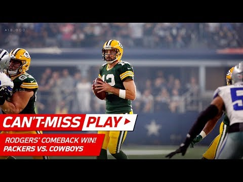 Video: Aaron Rodgers = 4th Quarter MVP w/ Amazing Comeback!