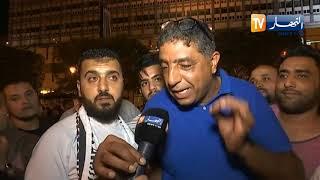 رسالة  التونسيون للشعب الجزائري عقب فوز قيس بكرسي الرئاسة
