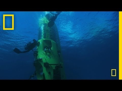 James Cameron x DEEPSEA CHALLENGER   Completed Deepest Ocean Dive Ever