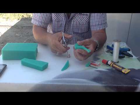 как сделать силикон в домашних условиях для рыбалки видео