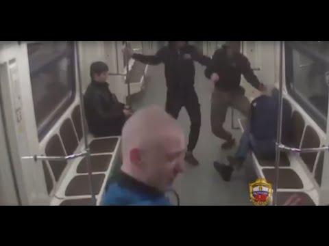 Задержали за хулиганство в метро