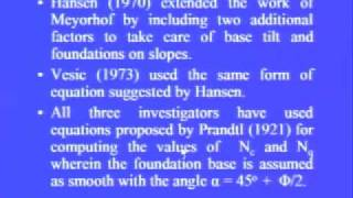 Mod-1 Lec-3 Shallow Foundation