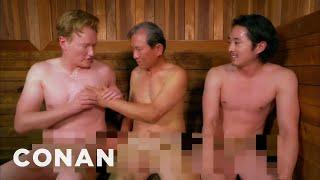 Nonton Steven Yeun   Conan Visit A Korean Spa    Conan On Tbs Film Subtitle Indonesia Streaming Movie Download