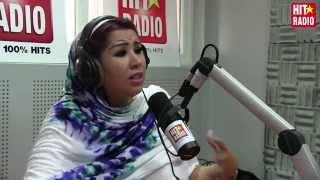 Saida Charaf dans le Morning de Momo sur HIT RADIO - 21/05/15