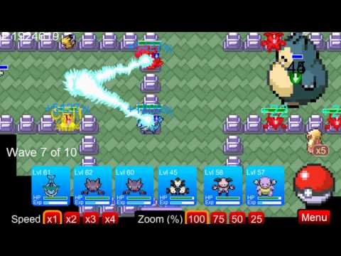 Pokemon Tower Defense - Como capturar Snorlax
