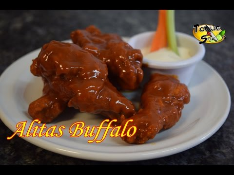 Alitas Búfalo - Buffalo wings